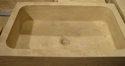 evier travertin pierre et travertin distribution pierre et travertin distribution. Black Bedroom Furniture Sets. Home Design Ideas