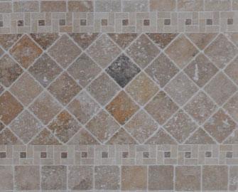 mosaique travertin spirale sur mur pierre et travertin distribution pierre et travertin. Black Bedroom Furniture Sets. Home Design Ideas